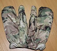 Варежки на 3 пальца дюспо мультикам