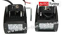 TeleMIX - Дополнительная оптика, светодиодная лампа-фара с радиатором охлаждения, 6 LED, ближний свет, 2 шт
