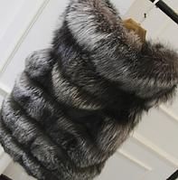Женская меховая жилетка. Модель 61708, фото 9