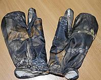 Варежки на 3 пальца дубок , фото 1