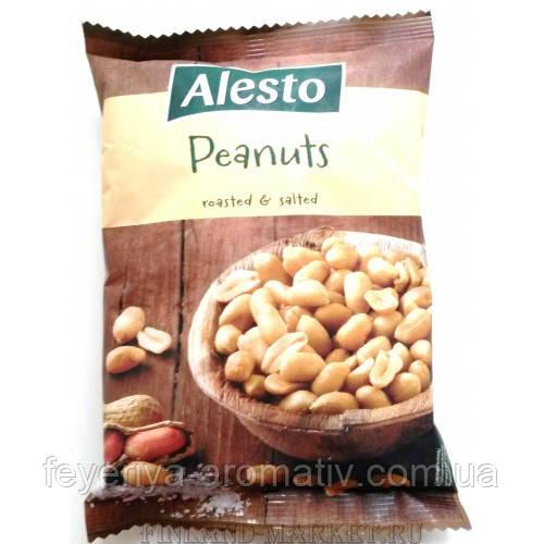 Соленые орешки Alesto Peanuts 250гр. (Польша)