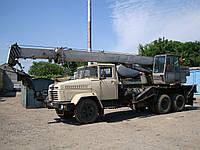 Услуги автокрана КС 35-75 (Грузоподъёмность 14 т. Длинна стрелы 15,5 м.)