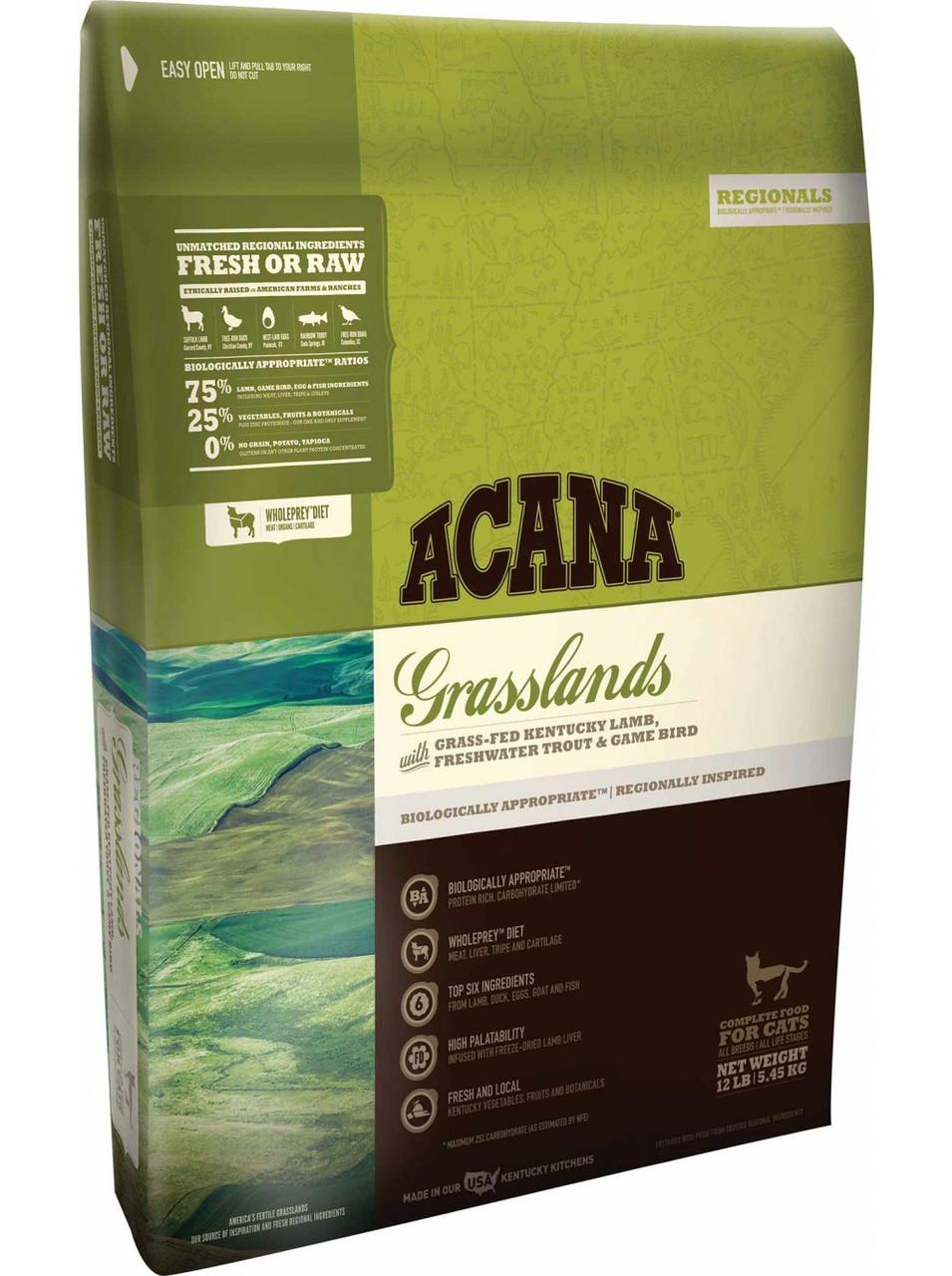 Корм для кошек Acana Grassland Cat 1.8кг