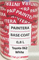 Автокраска Paintera BASECOAT RM Toyota 062 White (2 слой) 0.8L