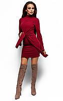 Облягаюче бордове коктейльне плаття Dior (M-L)