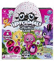Настольная игра Spin Master Games Приключения Hatchimals с четырьмя эксклюзивными коллекционными фигурками