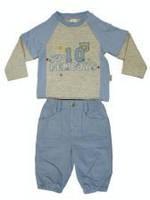 Костюм реглан с вельветовыми брюками для мальчика