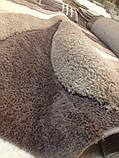 КОВЕР С ВЫСОКИМ ВОРСОМ  MICROFIBER 3D BROWN 100, фото 5