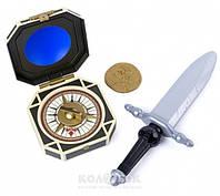 Игровой набор Spin Master The Pirates of the Caribbean Шпага пирата Джека Воробья с компасом
