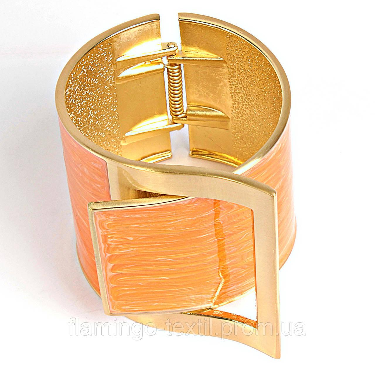 Ремень желтый женский широкий литье бронзы в гипсовую форму