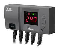 KG Elektronik CS-20 управление вентилятором и насосом ЦО
