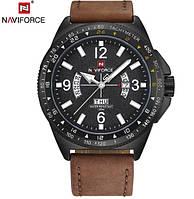 Военные противоударные мужские часы Naviforce Forever (№9103) Для настоящих мужчин