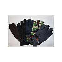 Перчатки флисовые с подкладкой  мужская sport