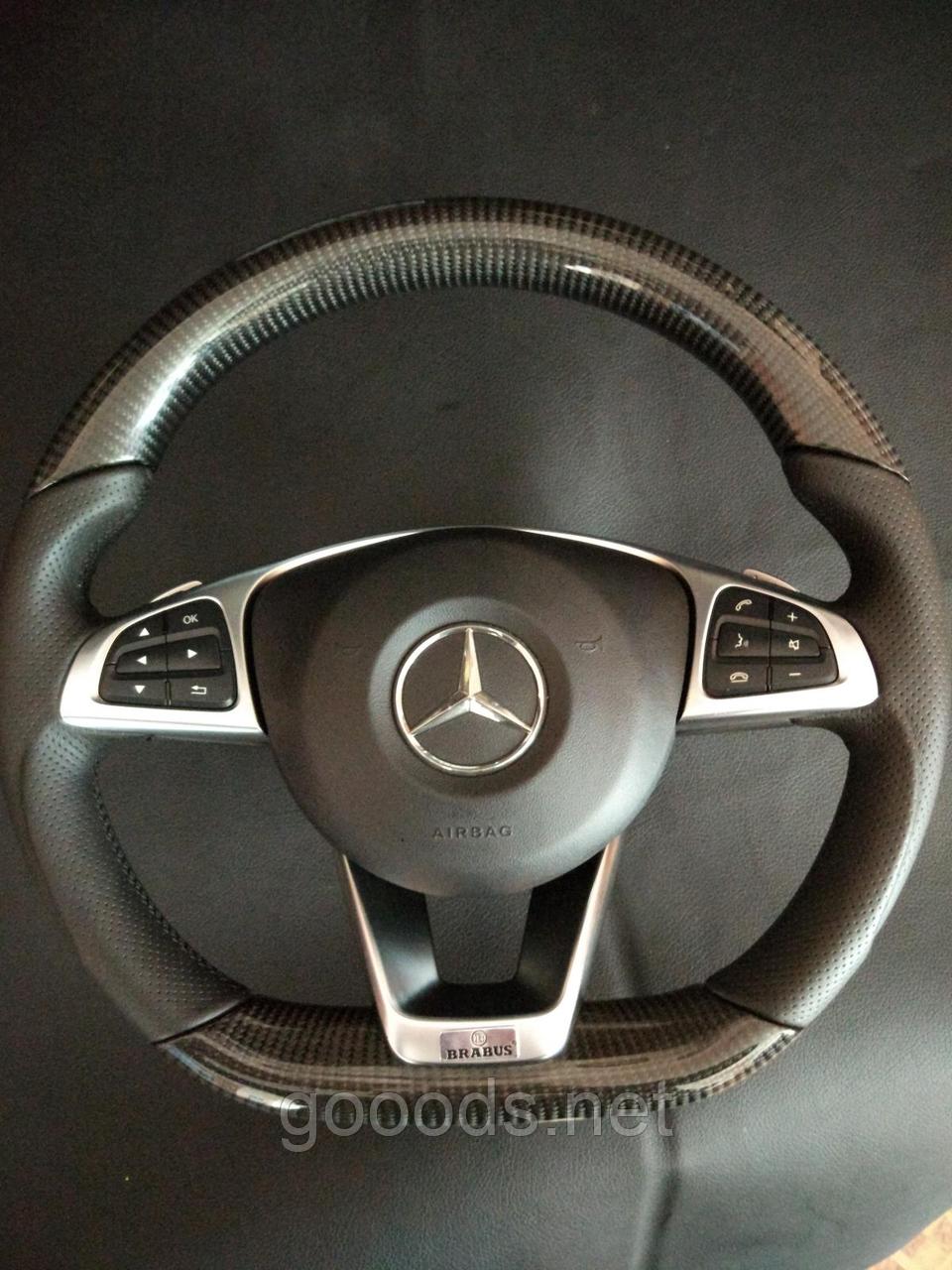 Руль карбоновый Mercedes Benz Brabus