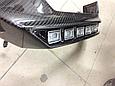 Докладка переднего бампера AMG (стиль Brabus) Mercedes G-Class W463, фото 5