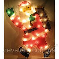 Электрическое панно Дед Мороз с мешком