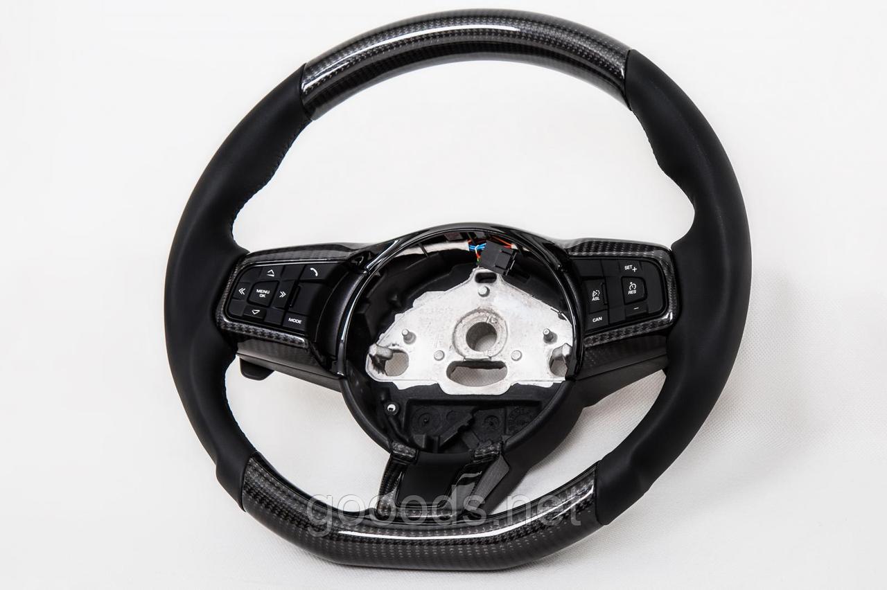 Карбоновый руль Jaguar XF
