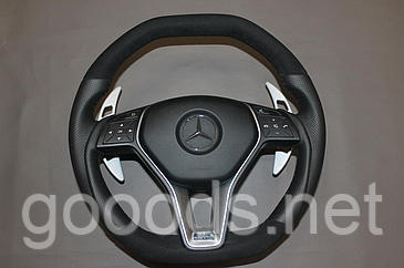 Руль Mercedes S Class Coupe C217 лепестки Brabus