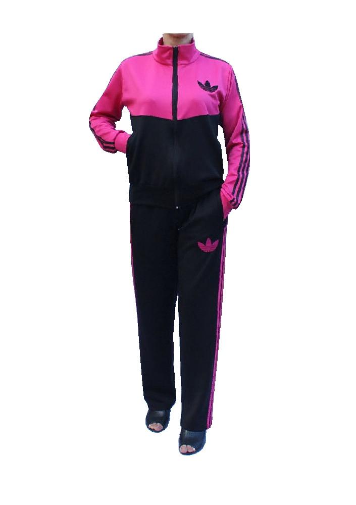 Спортивный костюм с воротником