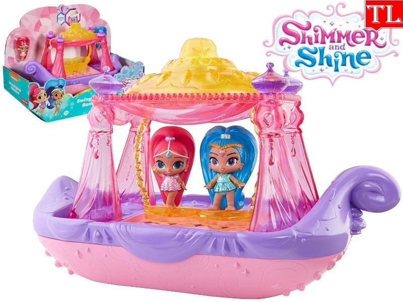 "Игровой набор ""Шиммер и Шайн"" на лодочке / Fisher-Price Shimmer & Shine Swing & Splash Genie Boat DTK86"