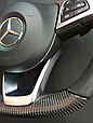 Карбоновый руль AMG на Мерседес C117 CLA Class, фото 4
