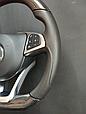 Карбоновый руль AMG на Мерседес C117 CLA Class, фото 5