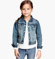 Джинсовые куртки и рубашки для девочек
