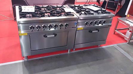 Плита 6-ти конфорочная с духовым шкафом и газовым контроллером M015-6 Pimak (Турция), фото 2