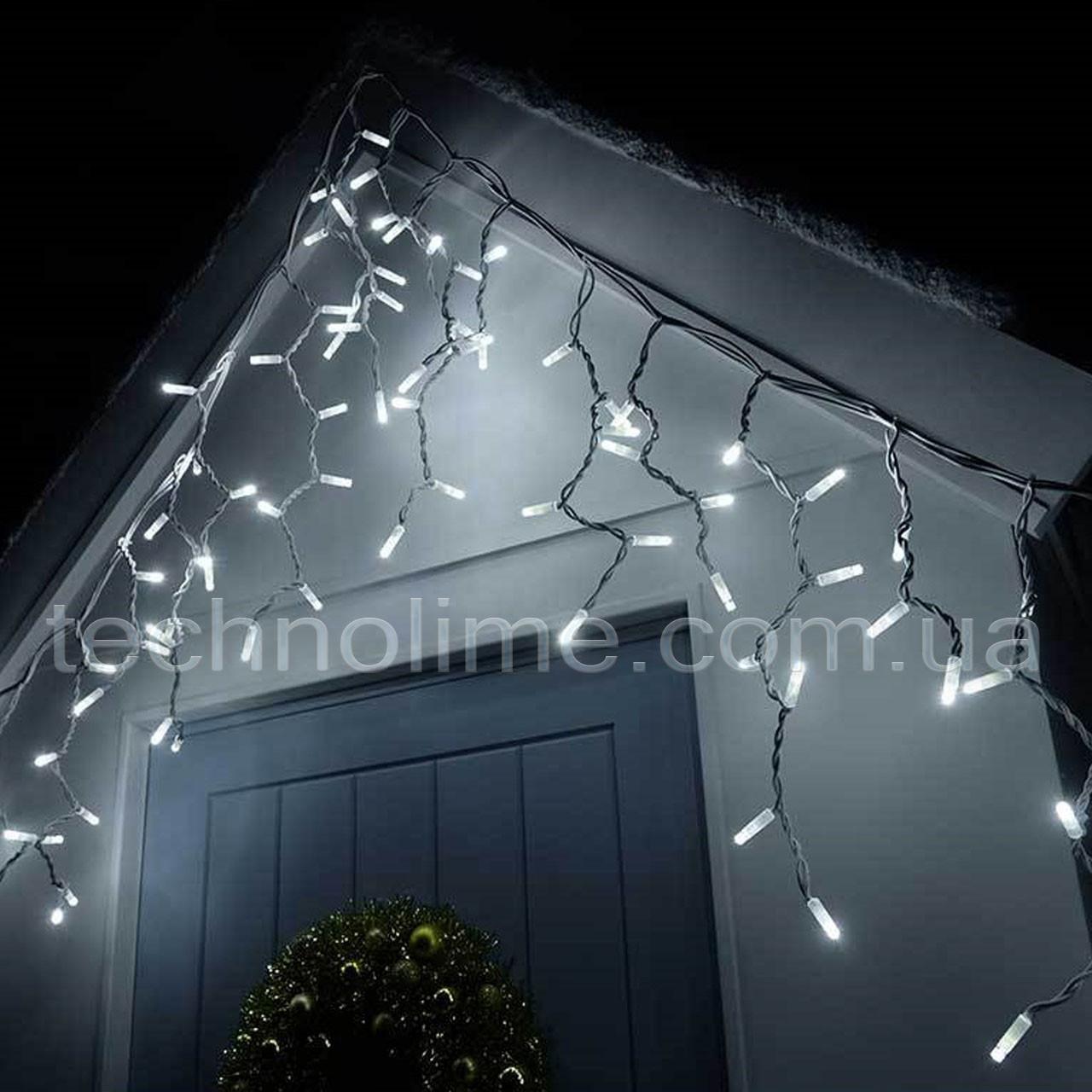 """Гирлянда """"Бахрома"""" 5 м. х 0,6 м уличная, 150 LED (белый, синий, мульти)"""