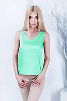 Майка-блузка «Алекса» - распродажа мятный, 46-48