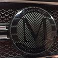 Карбоновая эмблема в решетку стиль Mansory Mercedes G-Class W463, фото 7
