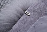 Женская меховая жилетка. Модель 61713, фото 6