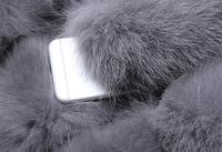 Женская меховая жилетка. Модель 61713, фото 7