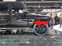 Обвес стиль Brabus WideStar карбоновые элементы Mercedes-Benz G-Class W463
