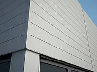 Металлические фасадные панели Либерти безшовный PE глянец.