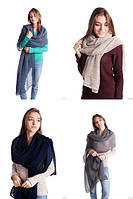 Ажурная женская шаль №3091