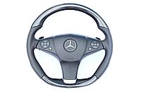 Руль карбоновый Mercedes Benz AMG дорестайлинг W212 Sedan E Class