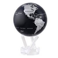 Самовращающийся глобус Черная карта