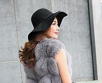 Женская меховая жилетка. Модель 61714, фото 2