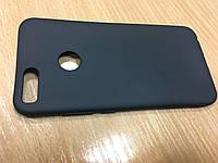 Черный матовый силиконовый чехол для Xiaomi Redmi Mi5x/Mi A1
