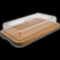 Доска бамбуковая с пластиковой крышкой Berghoff 39 х 24 см 1101811