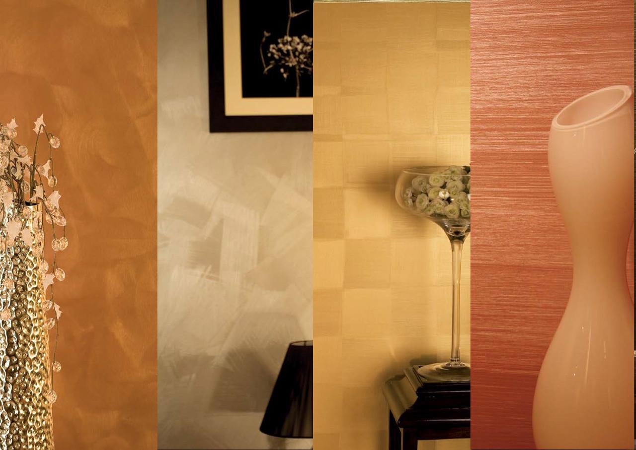 Athe Metal  Gold декоративная краска с металлическим 3Д эффектом