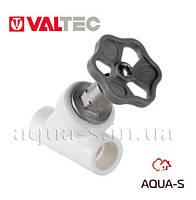 Вентиль полипропиленовый Valtec PPR DN 20 мм. прямоточный (запорно-регулирующий) VTp.714