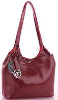 Женская кожаная сумка 1017 wine red Michael Kors женские сумки из натуральной кожи купить дешево в Одессе