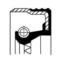 Сальник FRONT ALFA/VAG 32X47X10 FPM B1BAVISLDRWX7 (производитель Corteco) 12012709B