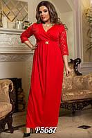 Женское платье большого размера 48-52, фото 1