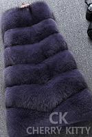 Женская меховая жилетка. Модель 61717, фото 6