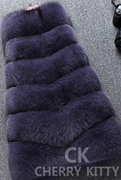 Жіноча хутряна жилетка. Модель 61717, фото 6
