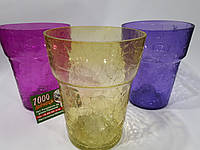 Кашпо стеклянное для орхидей 13см в ассортименте