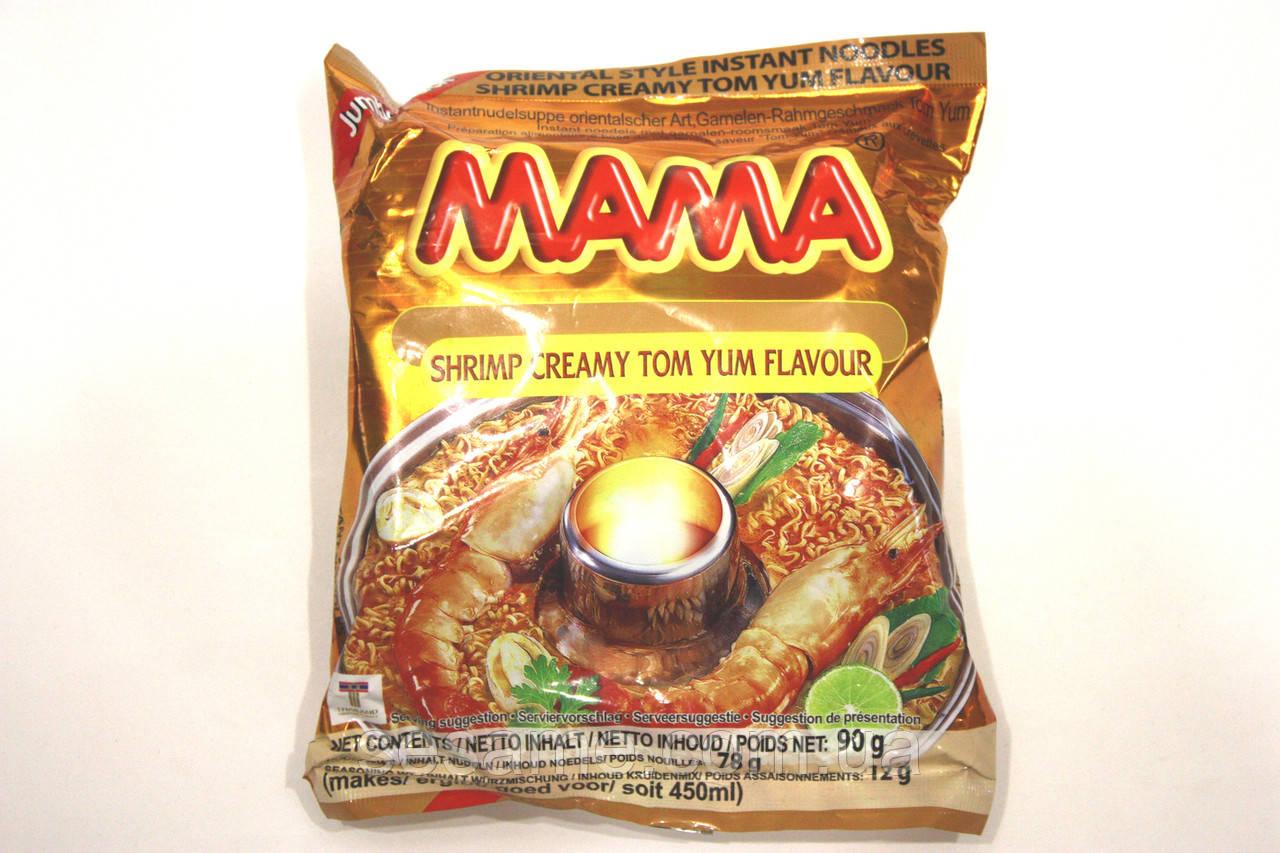 Тайская лапша быстрого приготовления с креветкой МАМА 90г (Таиланд)
